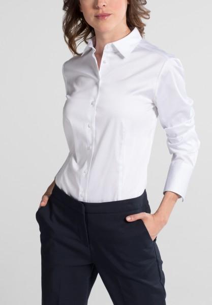 Langarm Bluse Modern Classic mit Satinbindung