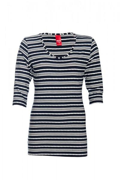 Gestreiftes Jerseyshirt Righe im maritimen Look