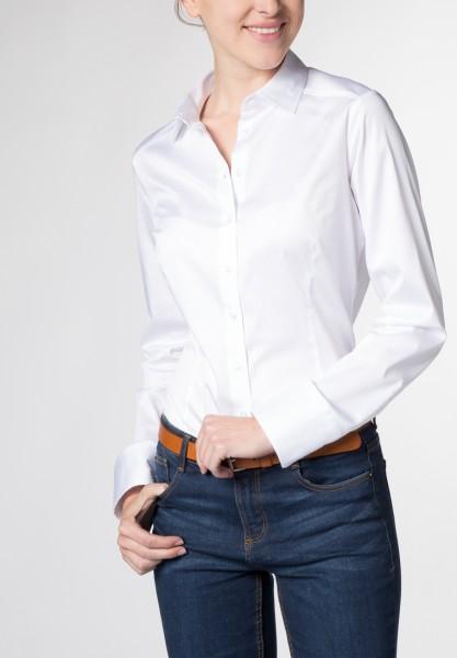 Langarm Bluse Slim Fit