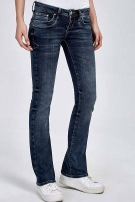 Lange Bootcut Jeans Valerie 36 Inch