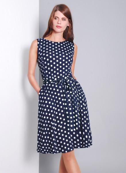 Gepunktetes Kleid REINA