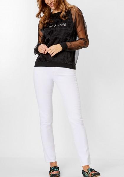 Lange Jeans PAT White Denim 36 Inch