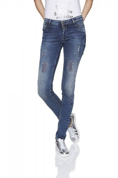 Lange Jeans Mila super tight ocean denim 38 Inch