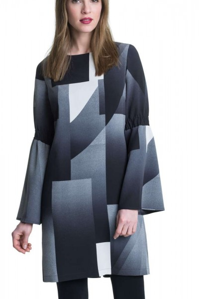 Kleid Koco in trendigem Grafikdruck