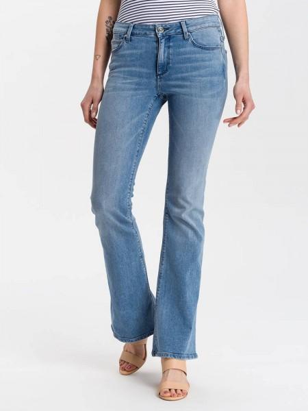 Lange Bootcut Jeans Faye 36 Inch
