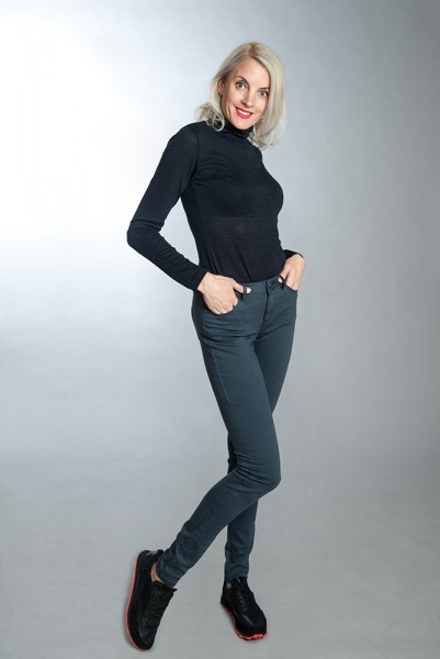Lange Skinny Jeans LUCY Colour Denim 36 Inch