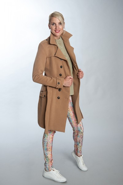 Mantel Panno in Trench-Stil