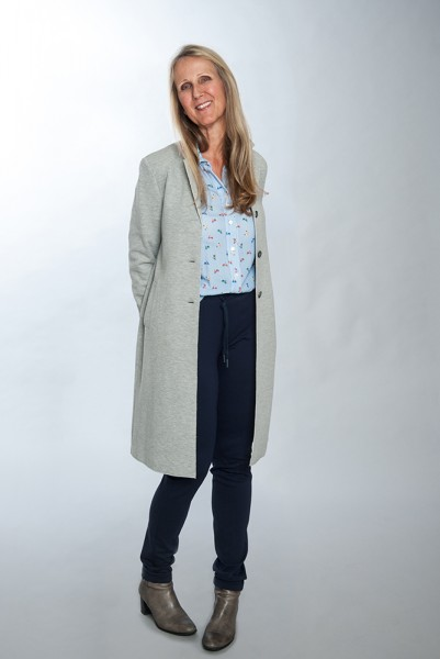 Mantel im Long-Blazer Style