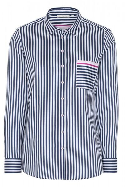 Langarm Bluse mit Streifen